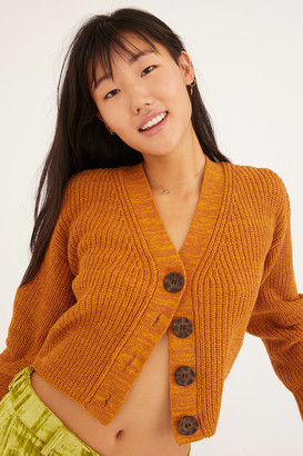 Urban Outfitters Turner Ribbed Button-Down Cardigan