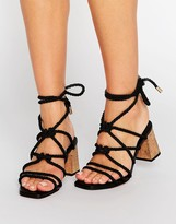 Asos TENNESSEE Heeled Sandals