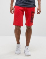 Nike Jersey Shorts In Red 833876-602