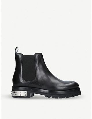 Alexander McQueen Leather Mod boots, Size: EUR 40 / 7 UK WOMEN