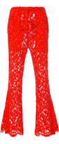 Proenza Schouler Flared Lace Pant