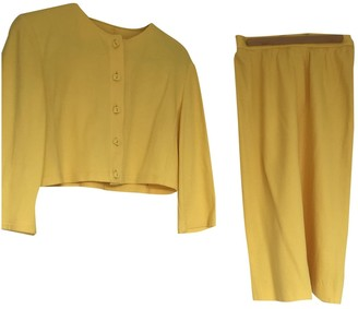 Jaeger Yellow Cotton Jacket for Women Vintage