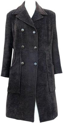 Christian Lacroix Brown Wool Coat for Women Vintage