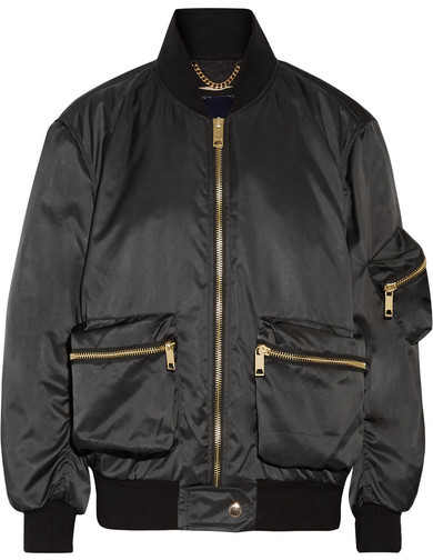 Burberry Satin-twill Bomber Jacket