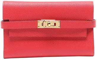 Hermes Kelly Red Leather Purses, wallets & cases