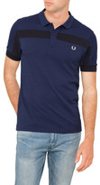 Fred Perry Textured Panelled Pique Polo