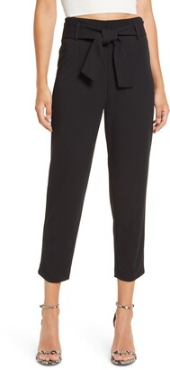 Leith Belted Tapered Pants