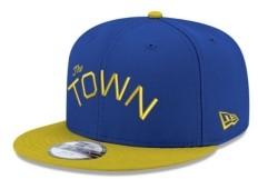New Era Kids Golden State Warriors Basic 9FIFTY Snapback Cap