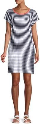 Splendid X Gray Malin Seaside Stripe T-Shirt Dress