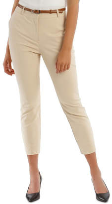 Chloé Tokito Cropped Belted Pant