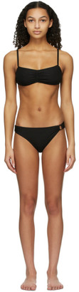 Solid and Striped Black The Mimi Bikini