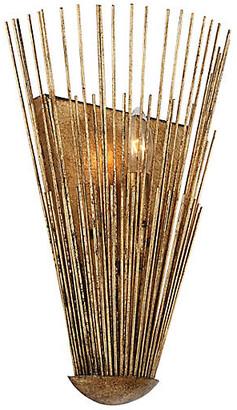 Alexa Hampton Ah X Generation Lighting Helios Sconce - Antique Gild