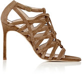 Manolo Blahnik Women's Vostra Caged Sandals-BEIGE