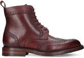 Barker Calder leather brogue boots