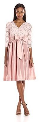 Jessica Howard JessicaHoward Women's Surplus Lace Fit & Flare Dress