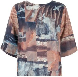 Raeburn silk mars T-shirt