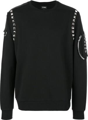 Les Hommes studded sweatshirt