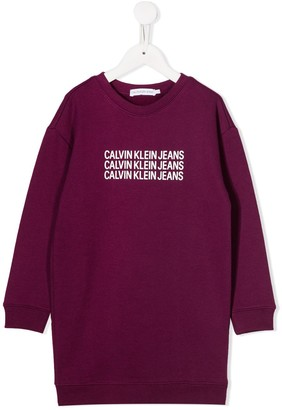 Calvin Klein Kids Oversized Knit Dress
