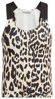 Paco Rabanne Leopard-print Tank Top - Womens - Leopard