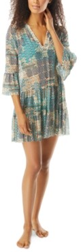 CoCo Reef Enchant Printed Swim Dress Cover-Up Women's Swimsuit