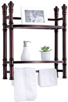 "Fox Hill Trading Monte Carlo 21.5"" x 27"" Wall Mount Shelf"
