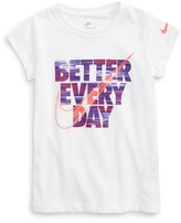 Nike Girl's Better Everyday Graphic Tee