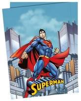 Unique Party Superman Childrens/Kids Official Plastic Tablecover