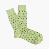 J.Crew Palm tree socks