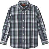 Joe Fresh Kid Boys' Plaid Shirt, Dusty Blue (Size L)