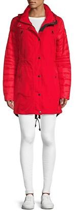 Pajar Iris Featherless Puffer Sleeve Anorak Jacket
