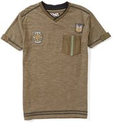 First Wave Little Boys 2T-7 Patches Short-Sleeve Tee
