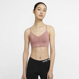 Nike Women's Seamless Light-Support Sports Bra Indy