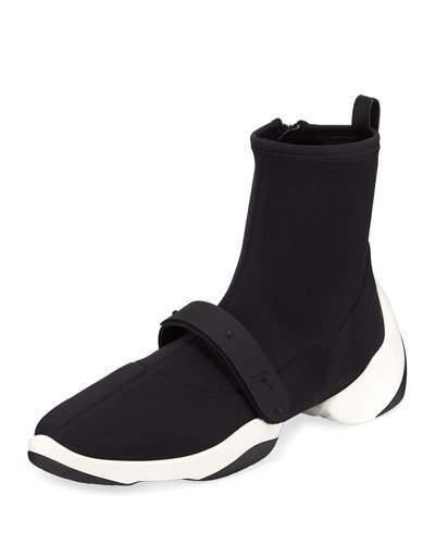 Giuseppe Zanotti Men's High-Stretch Runner Sneakers