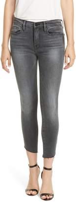 Frame Le Skinny de Jeanne Raw Hem Ankle Jeans