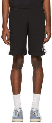 adidas Black 3-Stripe Shorts