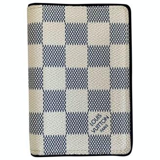 Louis Vuitton Pocket Organizer Ecru Cloth Small bags, wallets & cases