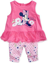 Nannette 2-Pc. Minnie Mouse Tunic & Capri Leggings Set, Baby Girls (0-24 months)