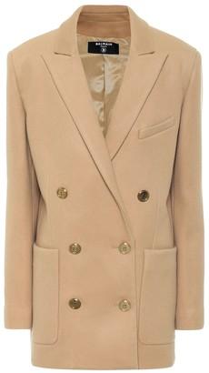 Balmain Wool and cashmere blazer