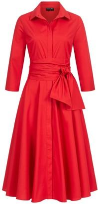 Marianna Déri Gina Shirt Dress Red