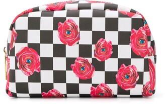 Seletti checkered makeup bag