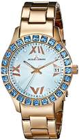 Jacques Lemans Women's 1-1517ZK Rome Analog Display Quartz Rose Gold Watch