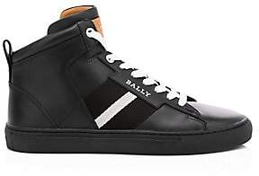 Bally Men's Hedern New High-Top Leather Sneakers