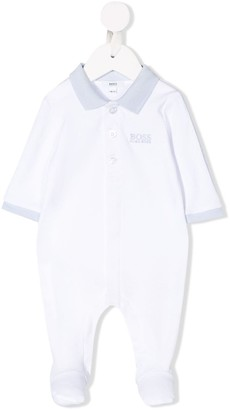 Boss Kids Polo Collar Pajamas