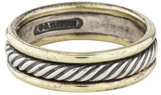 David Yurman Two-Tone Cable Band
