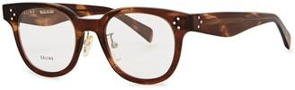 Celine Ellie oval-frame optical glasses