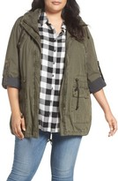 Levi's Plus Size Women's Roll-Sleeve Anorak