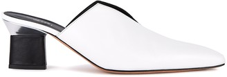 Rosetta Getty 65 White Leather Mules
