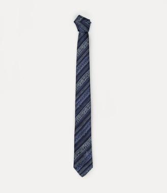 Vivienne Westwood Scribble Striped Tie Light Blue 7Cm