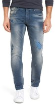 Scotch & Soda Men's 'Tye' Slim Fit Distressed Jeans