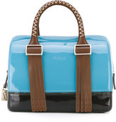 Furla Boston leather-trimmed tote - women - Leather/PVC - One Size